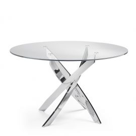 Mese dining - Masa rotunda design modern Veola, 110cm