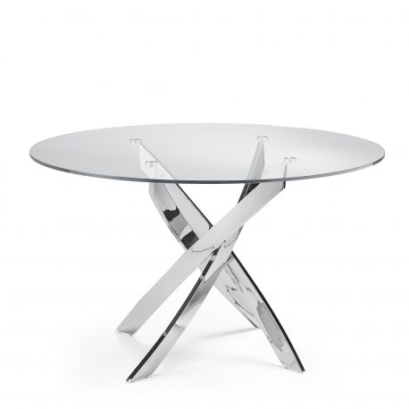 Mese dining - Masa rotunda design modern Veola, 120cm