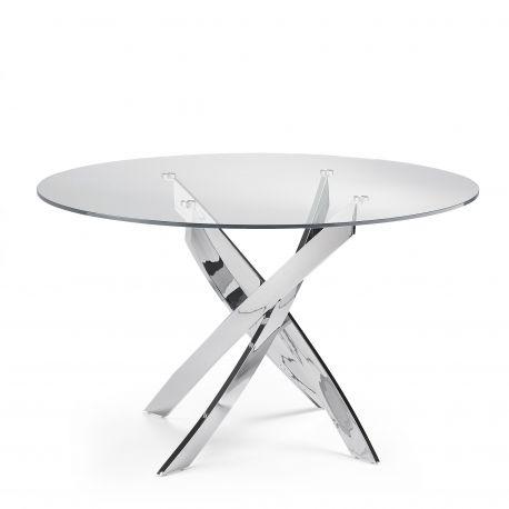 Mese dining - Masa rotunda design modern Veola, 130cm