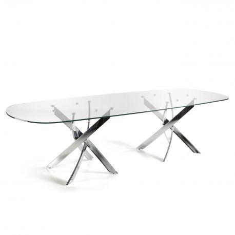 Mese dining - Masa eleganta design modern Veola, 300x120cm