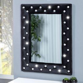 Oglinda decorativa M Boutique neagra