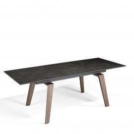 Mese extensibile - Masa dining extensibila design modern Walnut, 180-230x90cm