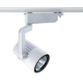 Spot LED directionabil pe sina Galax II alb 30W