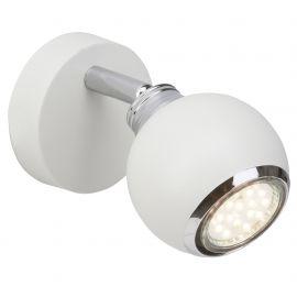 Aplice cu Spot - Aplica LED cu spot directionabil Ina alba