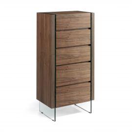 Dulapior elegant cu 5 sertare, design deosebit Aurore