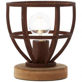 Veioze - Veioza / Lampa de masa stil industrial Matrix ruginie