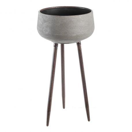 Ghivece - Ghiveci, Suport flori pentru interior, Cement 71,5cm
