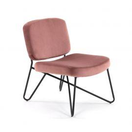 Fotolii - Fotoliu confortabil design modern CIRCUIT, catifea roz