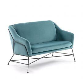 Canapele - Canapea fixa confortabila design modern BRIDA, catifea verde