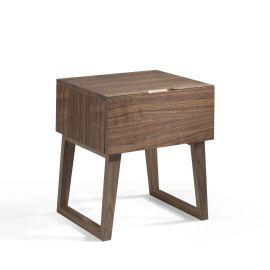 Noptiere - Masuta/ Noptiera eleganta design modern Walnut