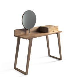 Console - Masa machiaj eleganta, design modern Walnut