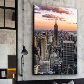 Tablouri - Tablou decorativ The Empire State, 100x150cm