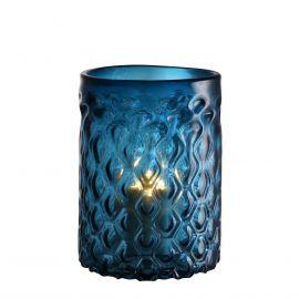 Parfumuri de camera, Idei cadouri, Obiecte decorative - Suport lumanare LUX Aquila S albastru