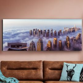 Tablouri - Tablou decorativ Rascacielos, 175x70cm