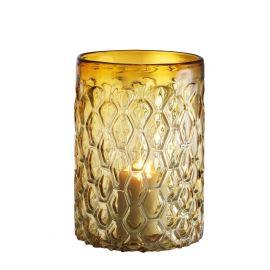 Parfumuri de camera, Idei cadouri, Obiecte decorative - Suport lumanare LUX Aquila S galben