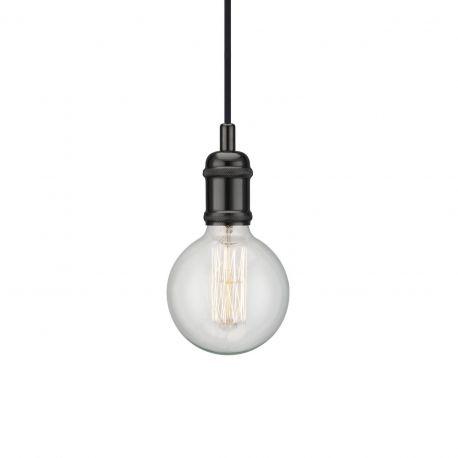 Pendule, Lustre suspendate - Pendul minimalist design scandinav Avra negru