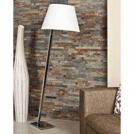 Lampadare - Lampadar, lampa de podea Orlando crom/ alb