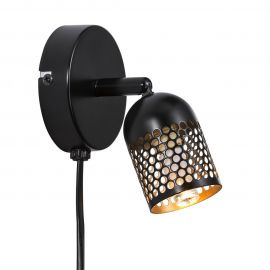 Aplice, corpuri de iluminat pentru pereti - Aplica minimalista directionabila design nordic Alfred