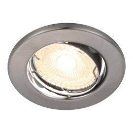 Spoturi tavan fals - Spot LED dimabil incastrabil Canis nickel 2700K