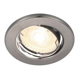 Spoturi tavan fals - Spot LED dimabil incastrabil Canis nickel 6500K