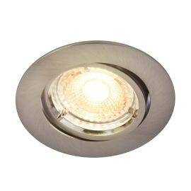 Spoturi tavan fals - Spot LED dimabil incastrabil Pavonis nickel 2700K