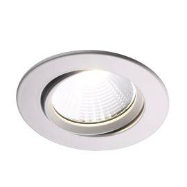 Spoturi tavan fals - Spot LED dimabil incastrabil Fremont alb 2700K