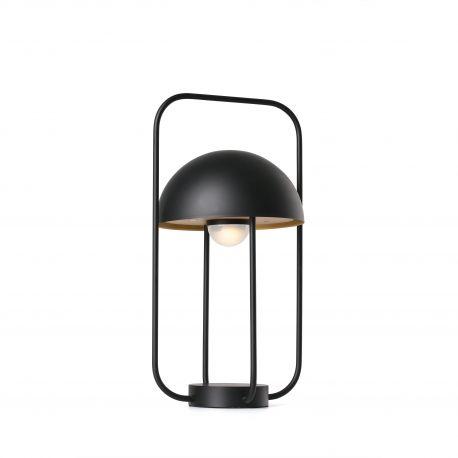 Veioze - Lampa LED portabila JELLYFISH black / gold