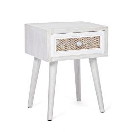 Noptiere - Noptiera cu sertar design vintage MONTIEL