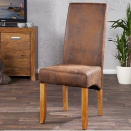 Seturi scaune, HoReCa - Set de 2 scaune Valentino cafeniu deschis