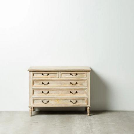 Comode - Comoda cu sertare design vintage NATURAL