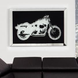 Tablouri - TABLOU DECORATIV Motorrad