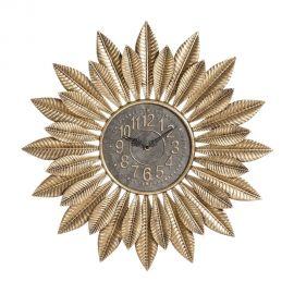 Ceas de perete Frunze aurii, 66,5cm