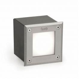 Spoturi - SPOT LED INCASTRABIL DE EXTERIOR Inox PATRAT
