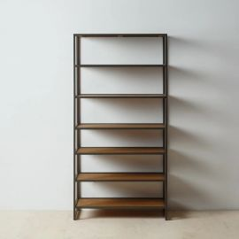 Biblioteci-Rafturi - Raft design industrial CÉSARE, H-149,5cm