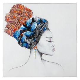 Tablou decorativ Africana, 100x100cm
