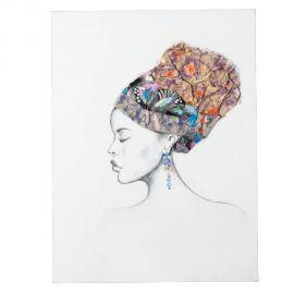 Tablouri - Tablou decorativ Africana, 90x120cm