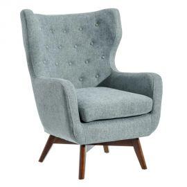 Fotolii - Fotoliu elegant design vintage Roger, albastru