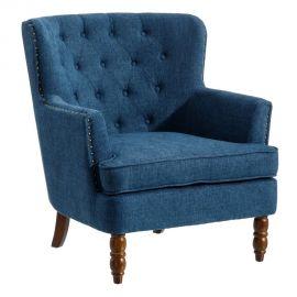 Fotolii - Fotoliu elegant design vintage Roger I, albastru