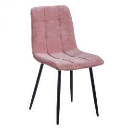 Seturi scaune, HoReCa - Set de 2 scaune moderne Jasmyna, roz