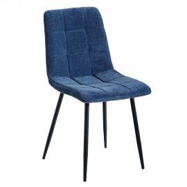 Seturi scaune, HoReCa - Set de 2 scaune moderne Jasmyna, albastru