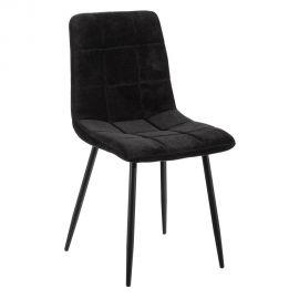 Seturi scaune, HoReCa - Set de 2 scaune moderne Jasmyna, negru