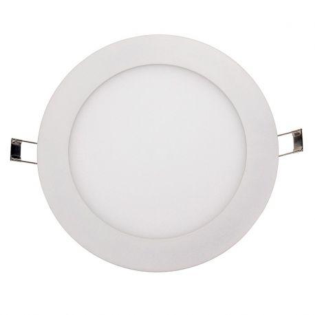 Spoturi tavan fals - Spot LED incastrabil tavan Ø12cm Hole alb 6W 4000K