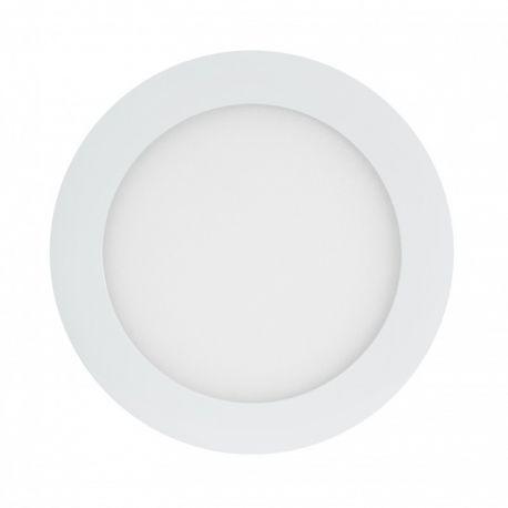 Spoturi tavan fals - Spot LED incastrabil tavan Ø18cm Hole alb 12W 4000K