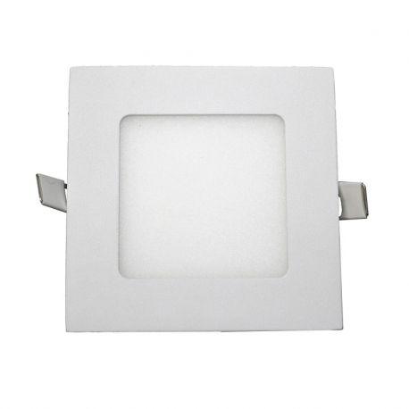 Spoturi tavan fals - Spot LED incastrabil tavan 12cm Hole alb 6W 2700K