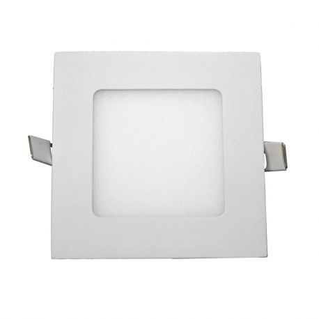Spoturi tavan fals - Spot LED incastrabil tavan 12cm Hole alb 6W 5500K