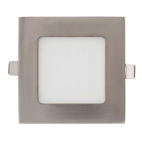 Spoturi tavan fals - Spot LED incastrabil tavan 17cm Hole nickel 12W 2700K