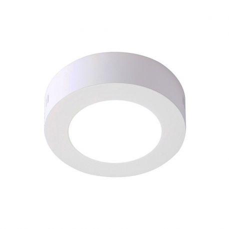 Plafoniere cu spoturi, Spoturi aplicate - Spot LED aplicat tavan Ø12cm SURF alb 6W 2700K