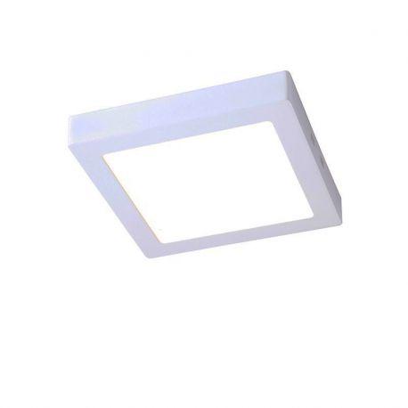 Plafoniere cu spoturi, Spoturi aplicate - Spot LED aplicat tavan 12cm SURF alb 6W 2700K