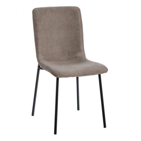 Seturi scaune, HoReCa - Set de 2 scaune design modern Rylie, maro