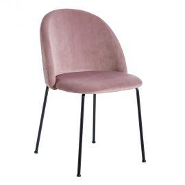 Set de 2 scaune design modern Angie, roz